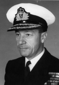 Rear-Admiral Bill Landymore